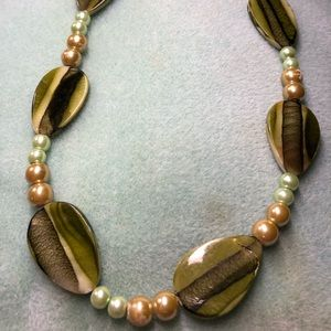 Pickled Green Necklace